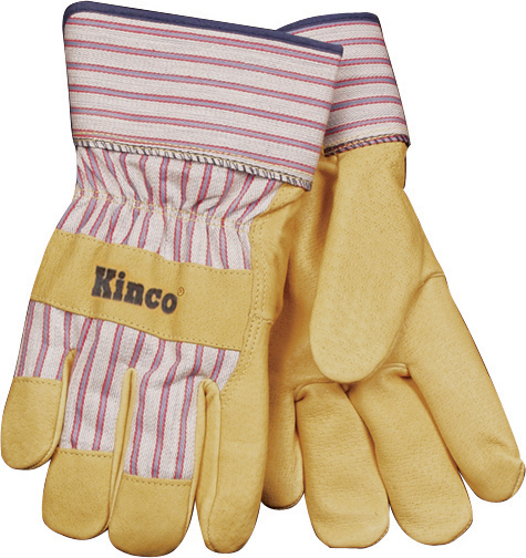 GRAIN PIGSKIN LEATHER PALM GLOVE 6 CT.
