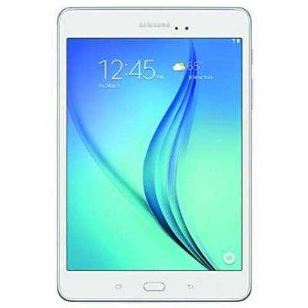 Refurbished Samsung Galaxy Tab A 8-Inch Tablet (16 GB, White) SM-T350NZWAXAR