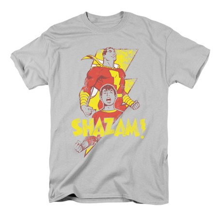 Comics Men's Transformation T-shirt Silver