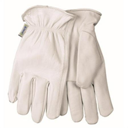 92w-M Women'S Medium Gray Goatskin Driver Gloves W/Keystone
