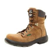 "Georgia Boot Work Men 8"" Waterproof Comp Toe Flexpoint Brown G9644"