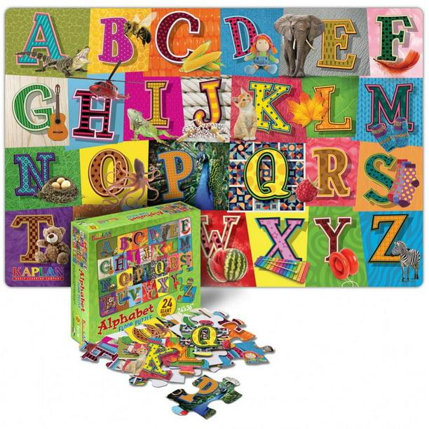 Alphabet Floor Puzzle - 24 Pieces - Walmart.com - Walmart.com