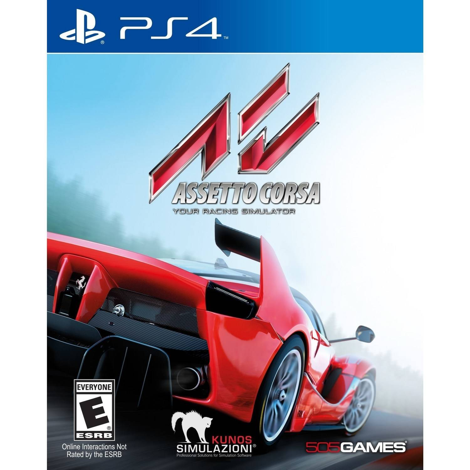 Assetto Corsa, 505 Games, PlayStation 4, 812872018805 by 505 Games