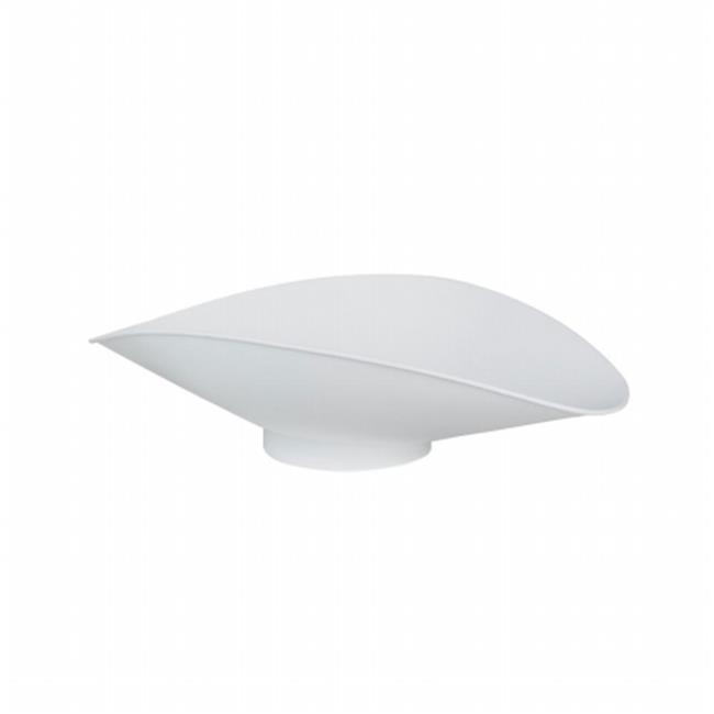 Cardinal Scales 6100-0002 White Plastic Bakers Dough Scoop by Cardinal Scale Manufacturing Company