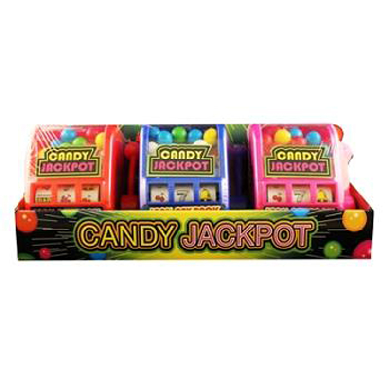 Kidsmania Candy Jackpot Slot Machine Candy Dispenser 0.7-Ounce Candy-Filled Dis