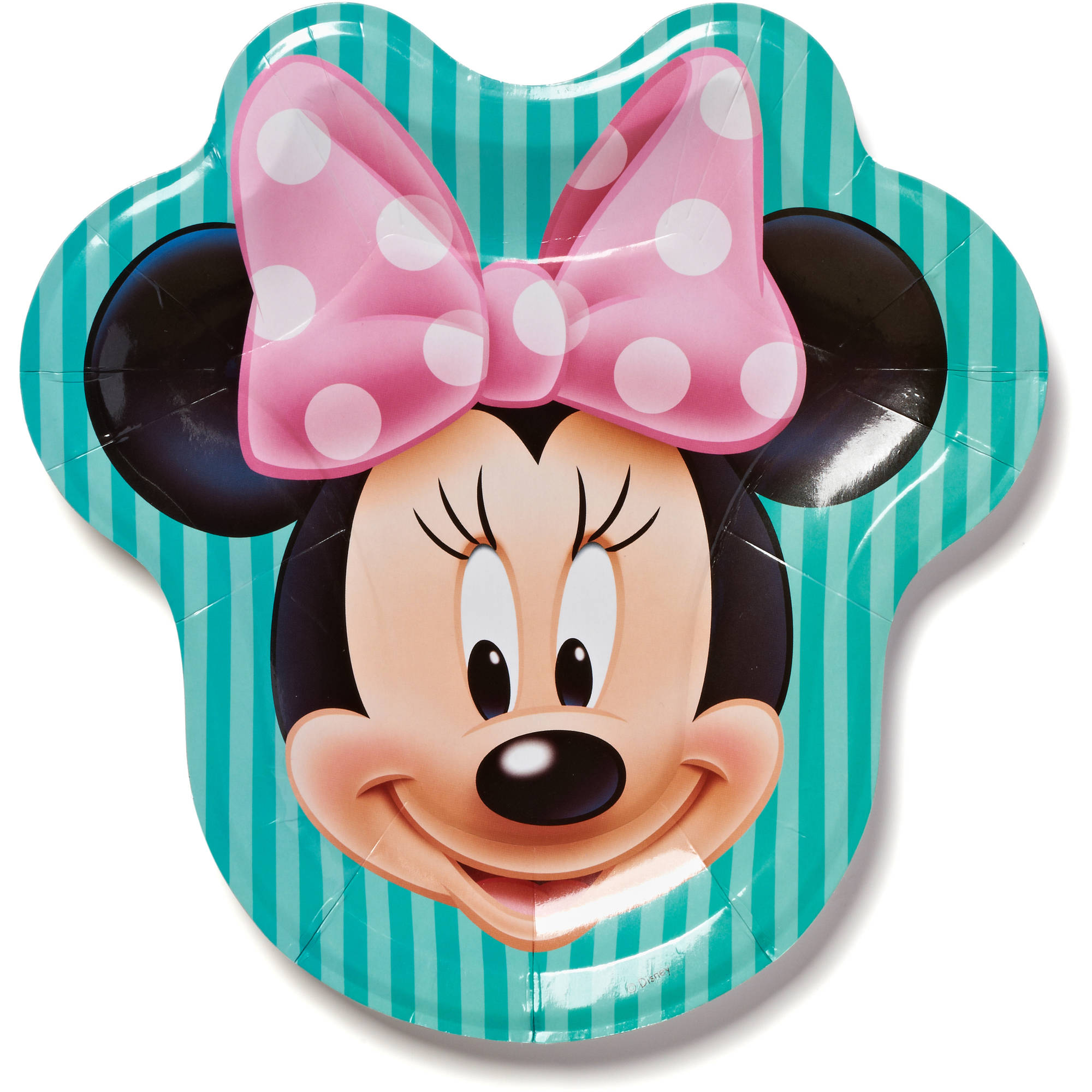 9 5 Minnie Mouse Paper Party Plate 8ct Walmart Com