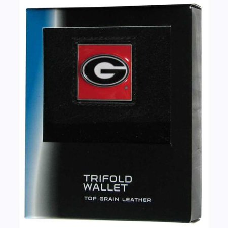 - Georgia Bulldogs Official NCAA  Leather Trifold Wallet in Gift Box by Siskiyou