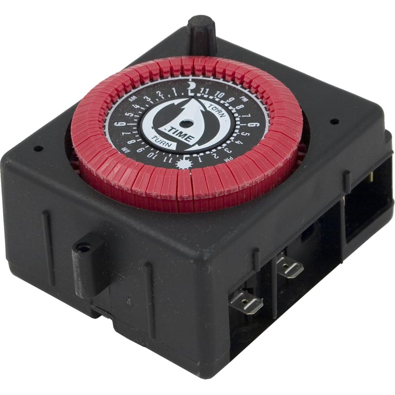 Timer, Intermatic, SPST, Panel Mount, 115v, 24hr, PF/RC w/Override