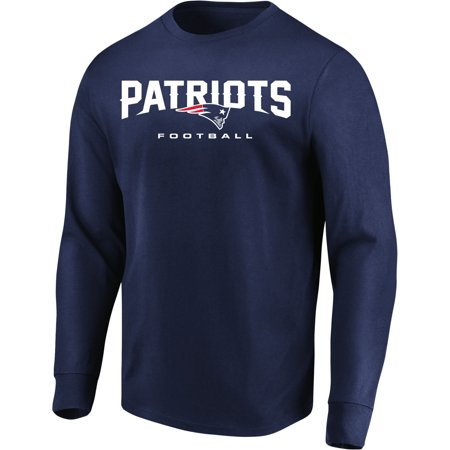 Men s Majestic Navy New England Patriots Our Team Long Sleeve T-Shirt -  Walmart.com 3bf5bfc1b