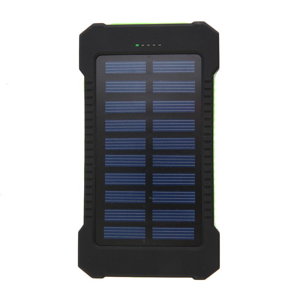 New 300000mAh Dual USB Portable Solar Battery Charger Solar Power Bank Portable Charger by LESHP