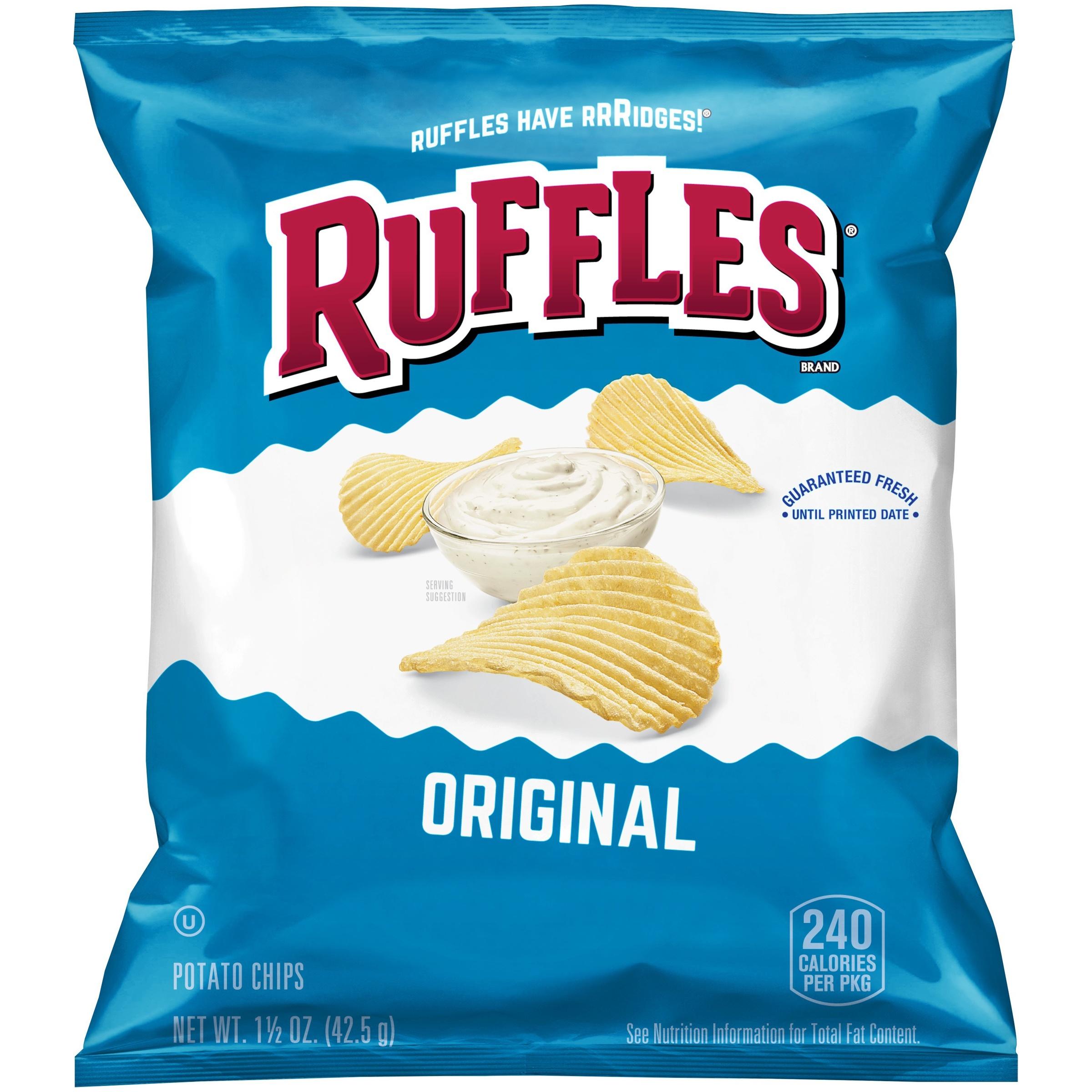 Ruffles® Original Potato Chips 1.5 oz. Bag
