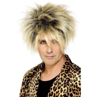 """26"""" Blonde 1980's Style Wild Men Adult Short Halloween Wig Costume Accessory - One Size"""