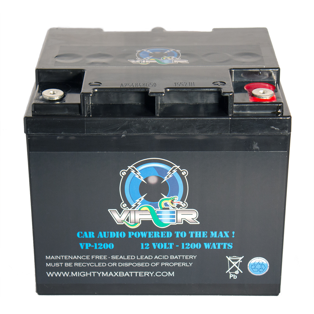 Viper VP-1200 12V 1200 Watt Power Battery To Power Car Stereo System