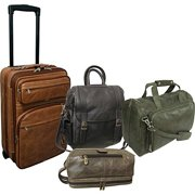 AmeriLeather Millennium 4-Piece Luggage Suite