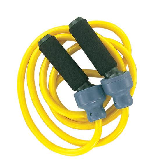 Weighted Jump Ropes in Yellow