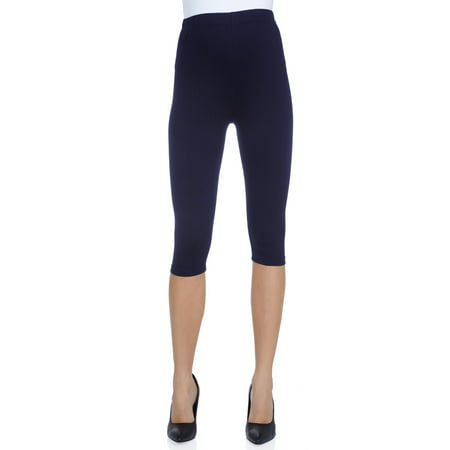 Women's Maternity Over The Belly Capri Crop Support Leggings