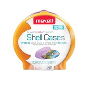 Maxell 20-Pack Slim CD-DVD Clamshells