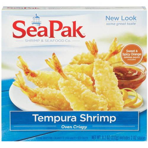 SeaPak Tempura Shrimp, 8.2 oz