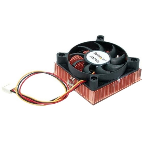 StarTech.com 1U 60x10mm Socket 7/370 CPU Cooler Fan