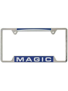 Orlando Magic WinCraft 4-Tab Style Inlaid Metal License Plate Frame