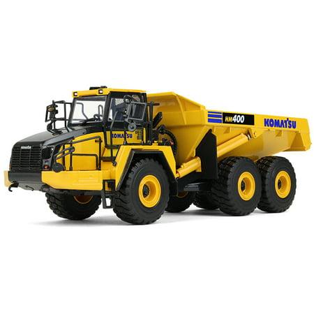 Komatsu Hm400 5 Articulated Dump Truck 1 50 Diecast Model By First Gear