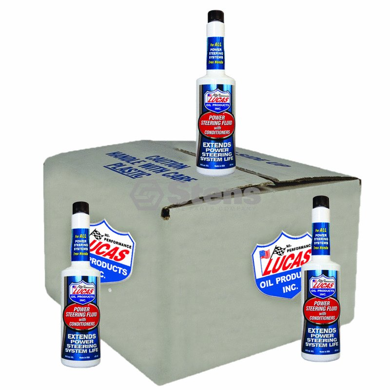 Genuine Stens Power Steering Fluid Part# 051-650 Replaces OEM Part For: Lucas Oil by Stens