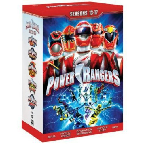 Power Rangers:??Seasons 13-17 (Full Frame)
