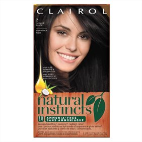 Clairol Natural Instincts Crema Keratina Hair Color 4rv Burgundy Eggplant Crème