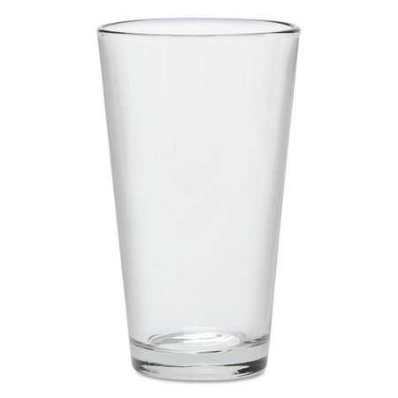 16 Oz Clear Mixing Glass (Anchor Mixing Glass, 16oz, Clear, 5 7/8