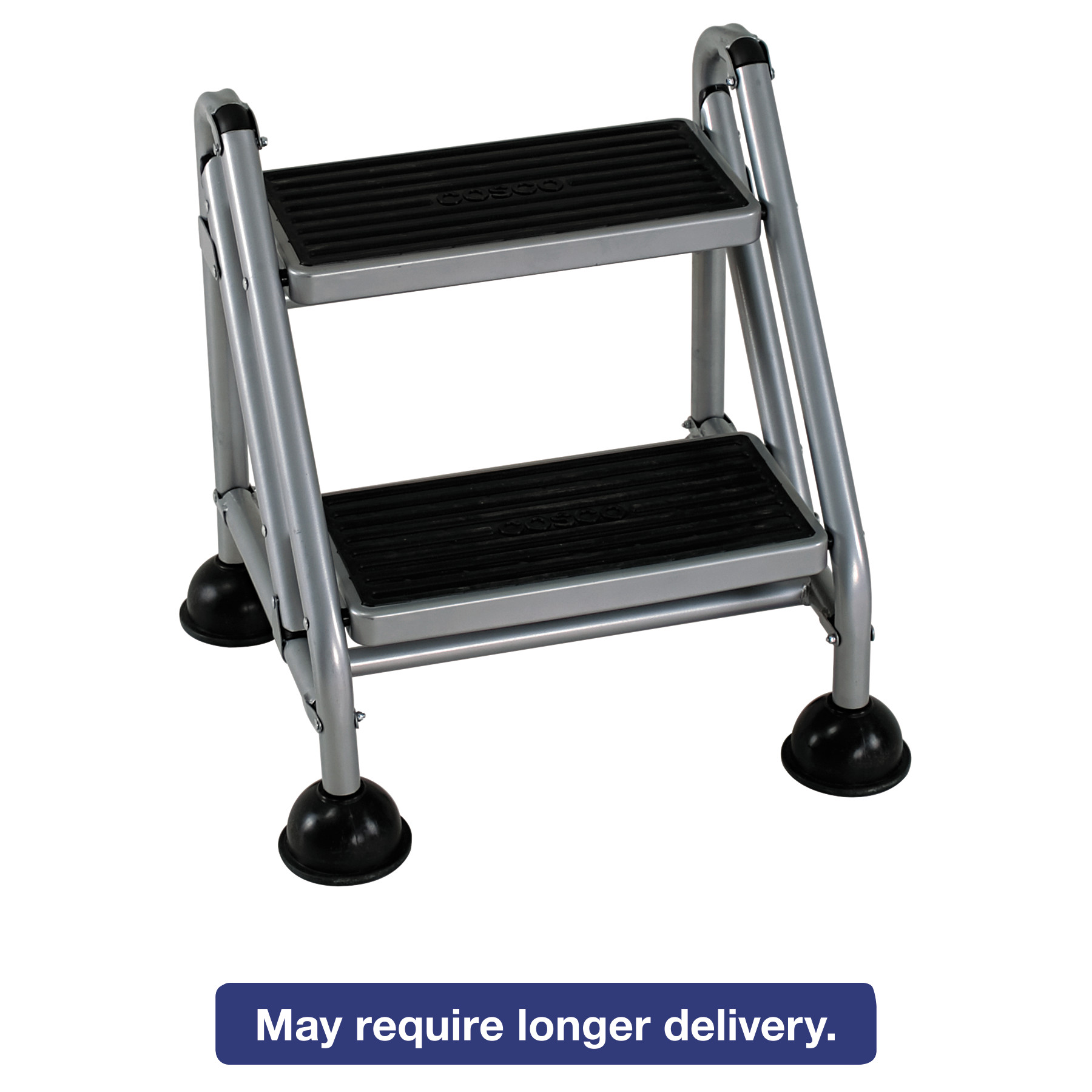 Cosco Rolling Commercial Step Stool 2 Step 19 7 10