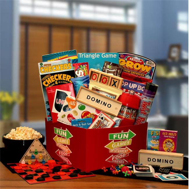 Gift Basket Drop Shipping 890402 More Fun & Games Gift Box