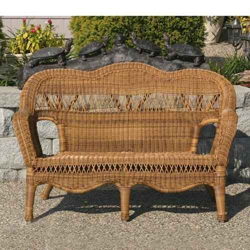 Sahara All-Weather Wicker Loveseat