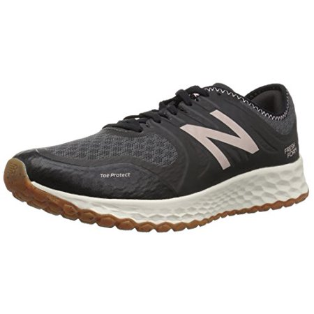 New Balance Kids Trail Runner (New Balance Women's Kaymin Trail v1 Fresh Foam Trail Running Shoe, Black, 5 B)