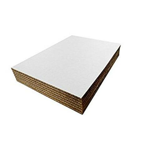 SafePro 281850, 28x18-Inch White Rectangular Corrugated Cardboard Cake Pie Pads, Paperboard Cake Bakery Platters Trays - Cardboard Trays