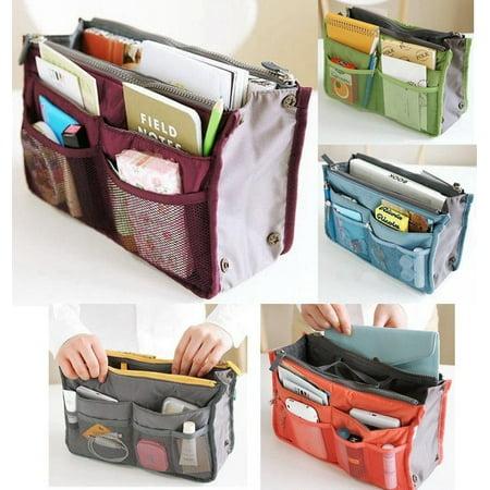 New Insert (New Travel Insert Handbag Organiser Purse Large liner Organizer Bag)