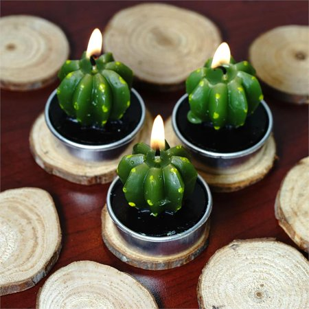 BalsaCircle 25 pcs Natural Round Wooden Chips - Rustic Wedding Party Favors Gift Centerpieces Accessories Home Decorations Supplies ()