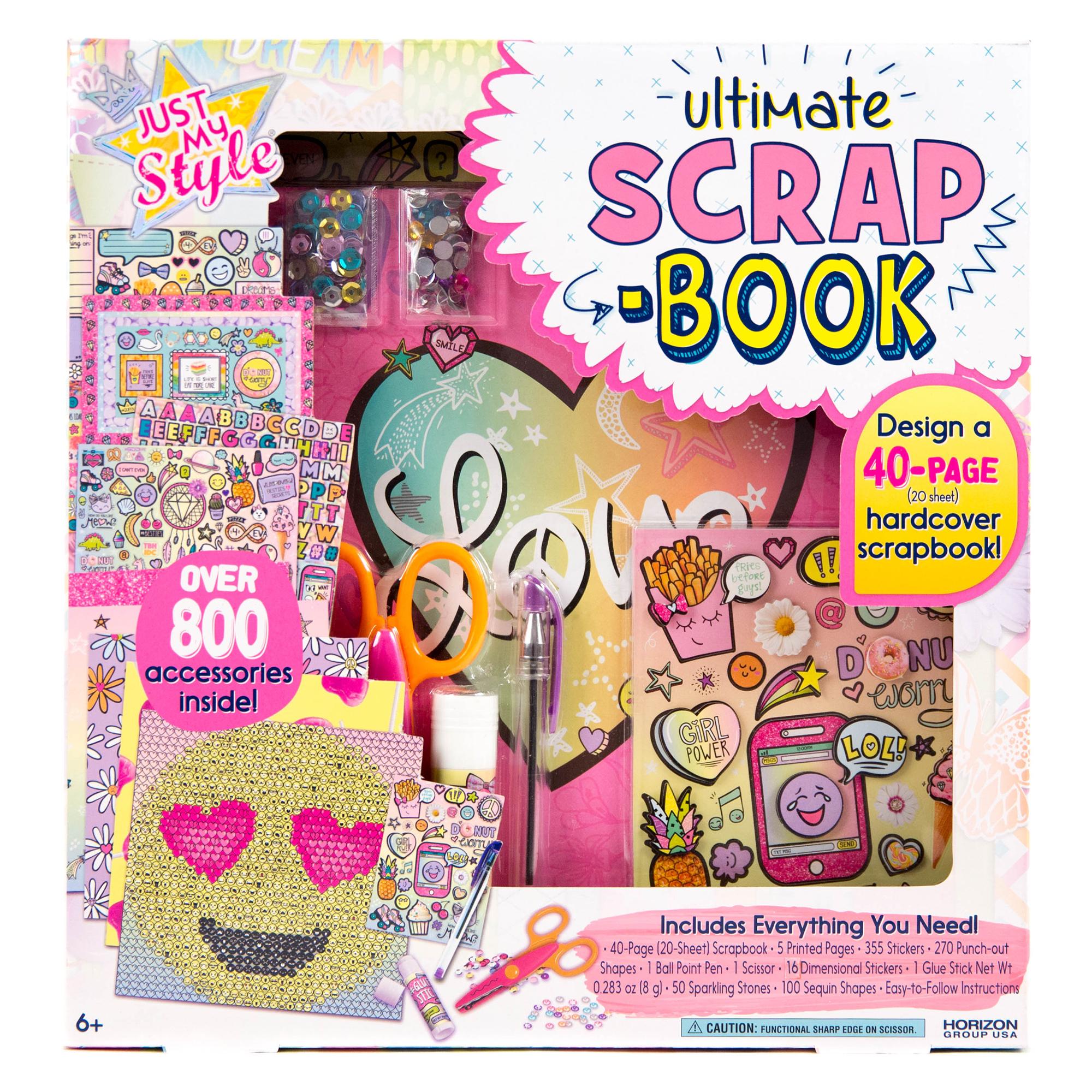 Just My Style Designer Scrapbook Kit by Horizon Group USA