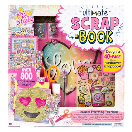 Just my style scrapbook kit for Walmart arts and crafts