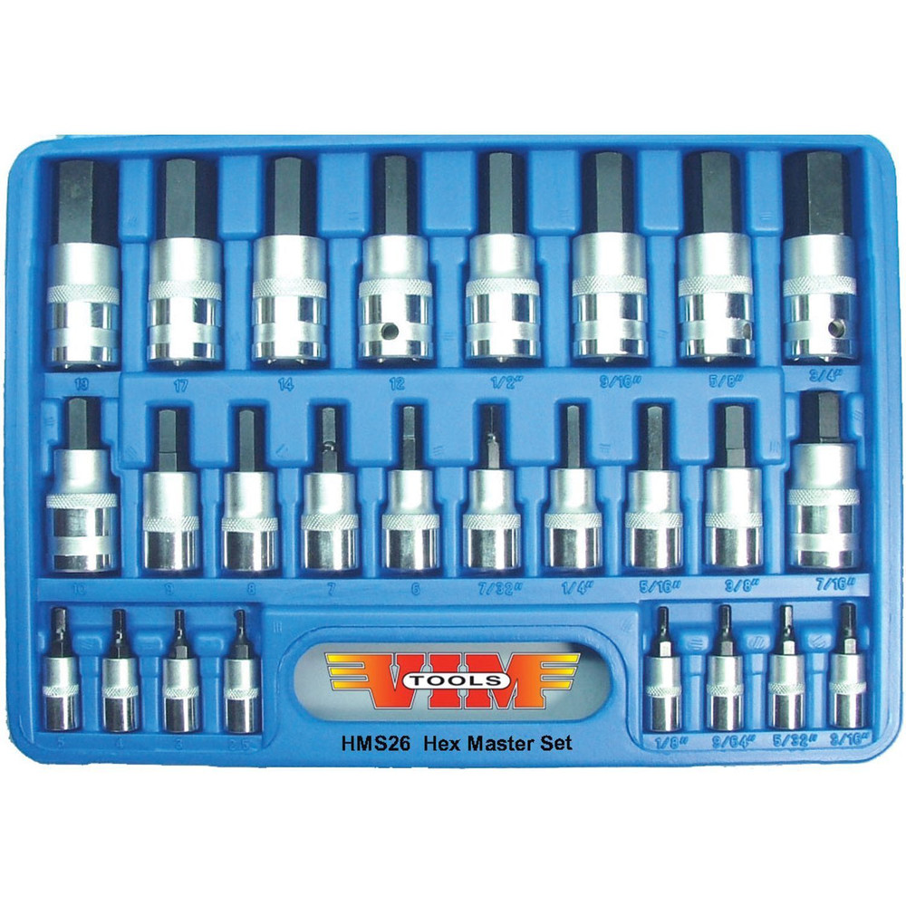 VIM Tool HMS26 26-Piece Hex Master Set