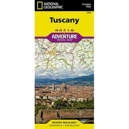 Adventure Map: Tuscany [italy] - Folded Map
