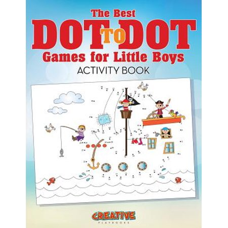 The Best Dot to Dot Games for Little Boys Activity Book (Paperback) - Dot To Dot Game