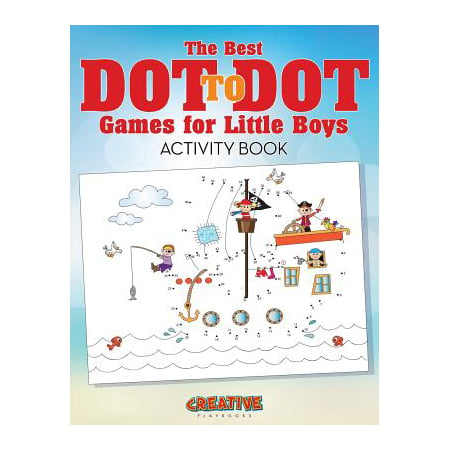 The Best Dot to Dot Games for Little Boys Activity Book (Paperback) (Best Books For 9 Year Old Boys)