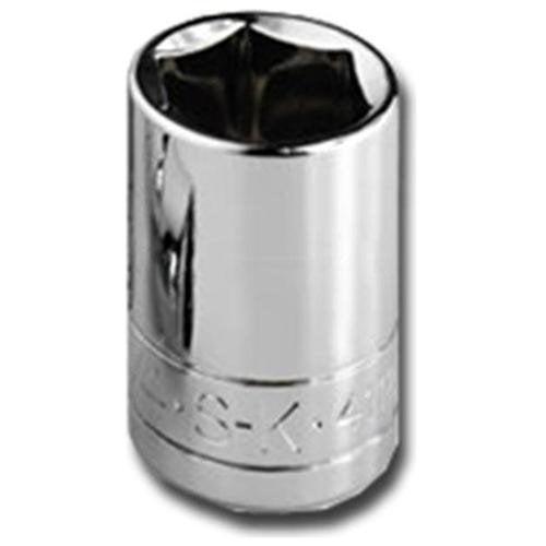 """Sk Professional Tools 1/4"""" Drive, 2"""", Socket, Alloy Steel, 41701"""