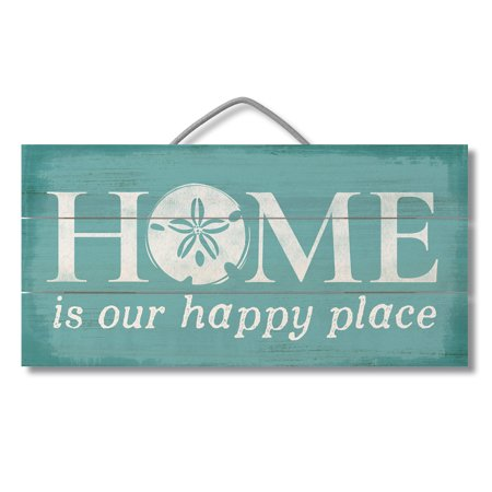 Highland Home® Slatted Pallet Wood Sign, 12