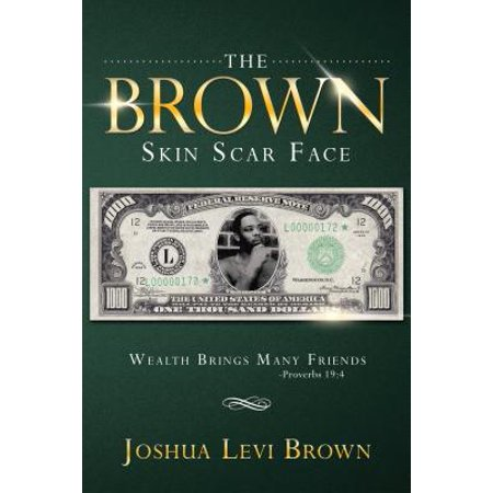 The Brown Skin Scar Face - eBook](Scars On Face For Halloween)