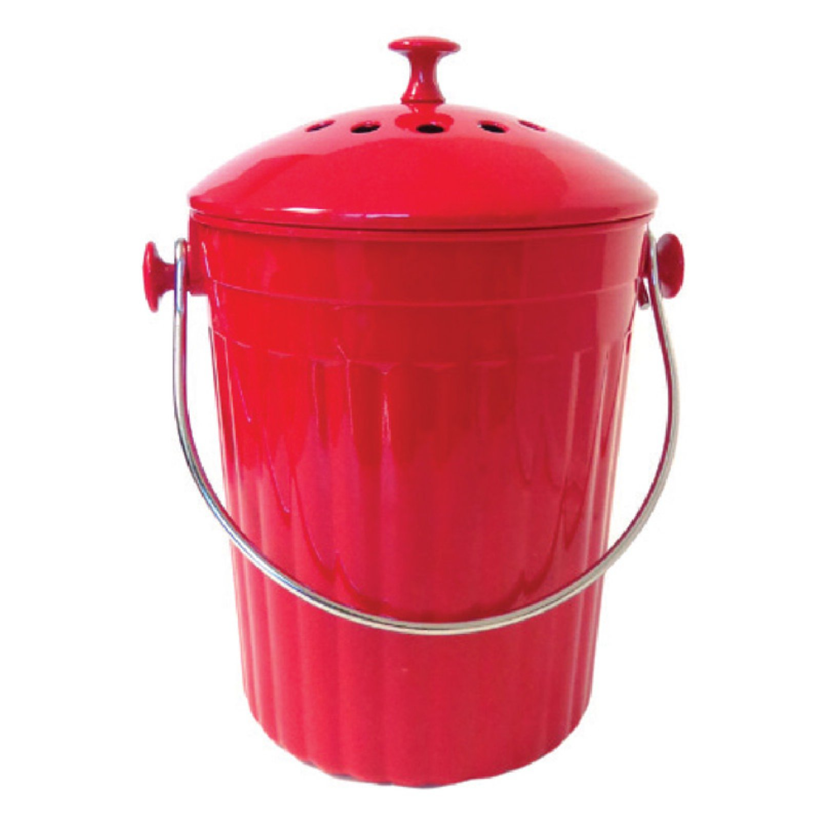 Natural Home 1-Gal MOBOO Compost Bin, Cherry by Generic