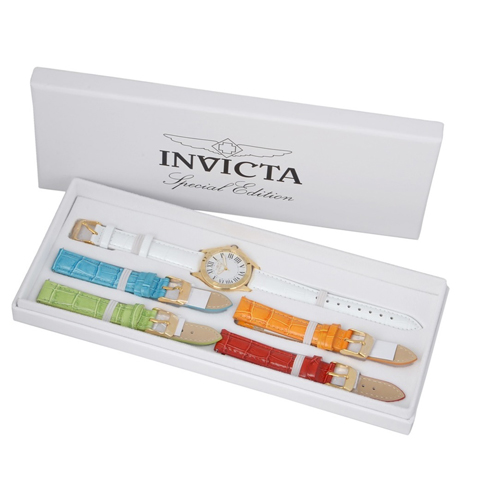 Invicta Women's Angel Watch Japan Movement Flame Fusion Crystal 21782