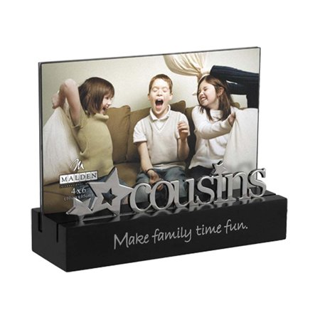 Malden Cousins Desktop Expressions 4x6 Frame