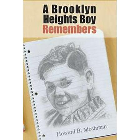 A Brooklyn Heights Boy Remembers - eBook (Garden Place Brooklyn Heights Halloween)