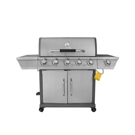 Royal Gourmet GG5302S Propane Gas Grill 5-Burner with Side Burner, Stainless Steel